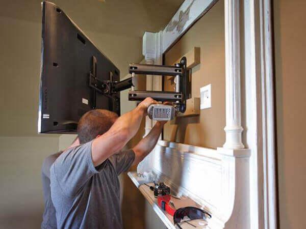 tv wall bracket installation edinburgh